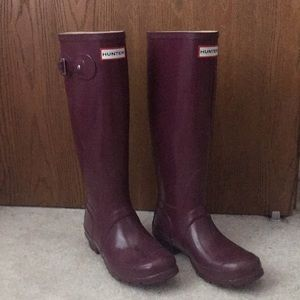 tall hunter boots